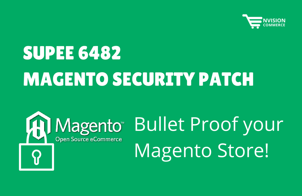 SUPEE 6482 Security patch Update by Magento
