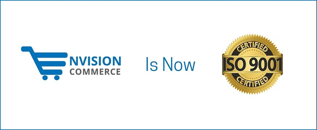 Envision Ecommmerce is ISO Certified