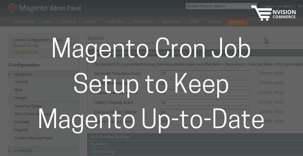 Magento Cron Job Setup to Keep Magento Up-to-Date