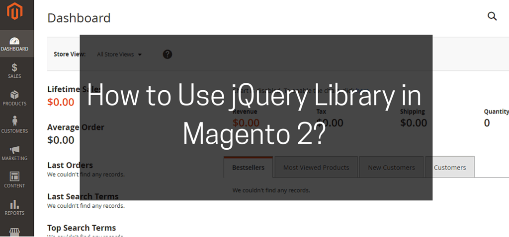 How to Use jQuery Library in Magento 2-