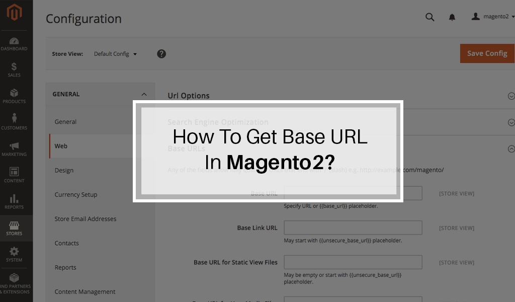 How-to-get-base-URL-in-Magento2.jpg May 2, 2016 128 kB 1024 × 600 Edit Image Delete Permanently URL http://demo.envisionecommerce.com/wp-content/uploads/2016/05/How-to-get-base-URL-in-Magento2.jpg Title How-to-get-base-URL-in-Magento2 Caption