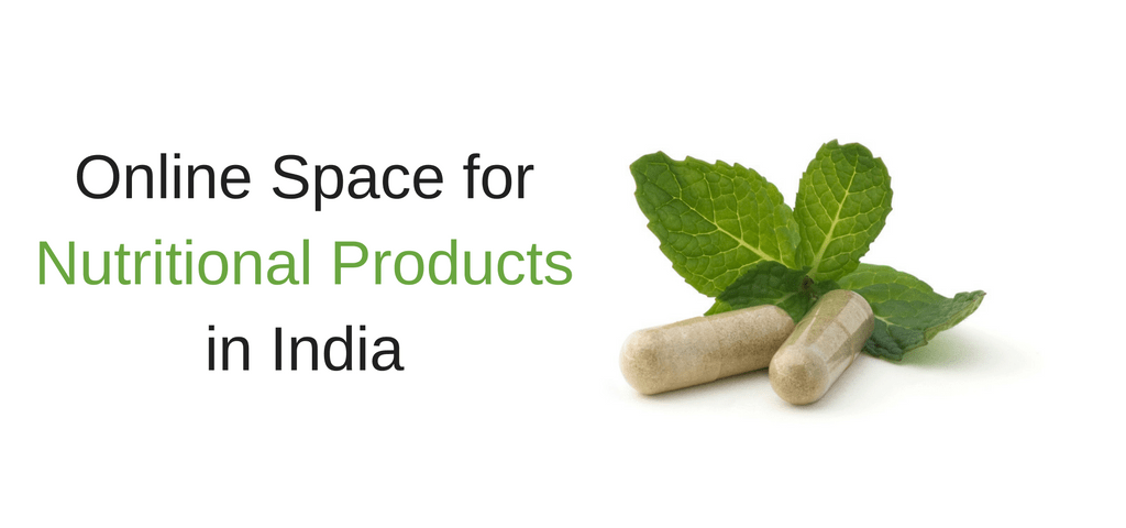 Online Space for Nutritional Products in India