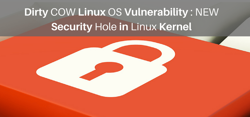 CVE-2016-5195 - New Linux Operating System Security Hole
