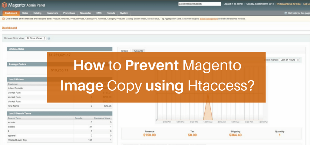 How to Prevent Magento Image Copy using Htaccess?