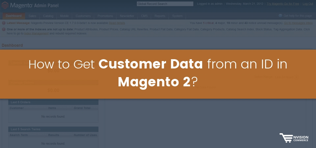 HOW TO GET CUSTOMER DATA FROM AN ID IN MAGENTO 2?