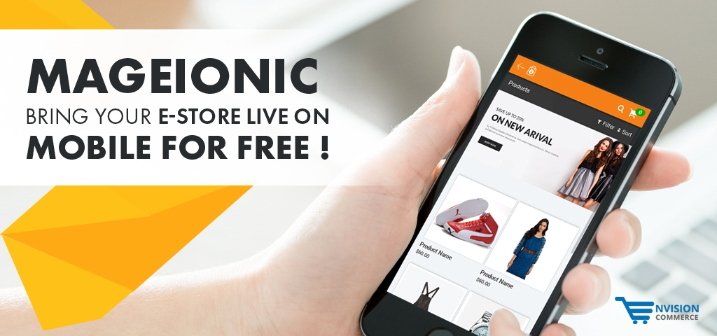 mageionic- magento store mobile app free