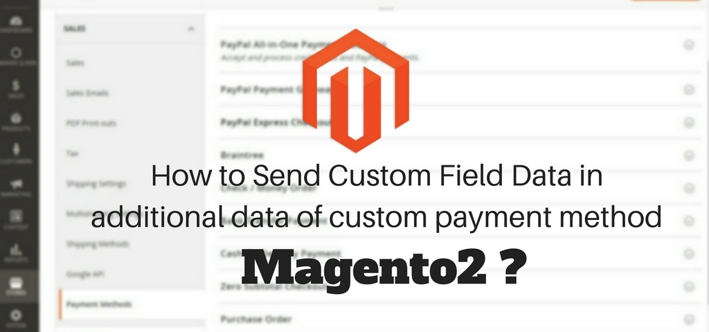 How to Send Custom Field Data in additional data of custom payment method magento 2