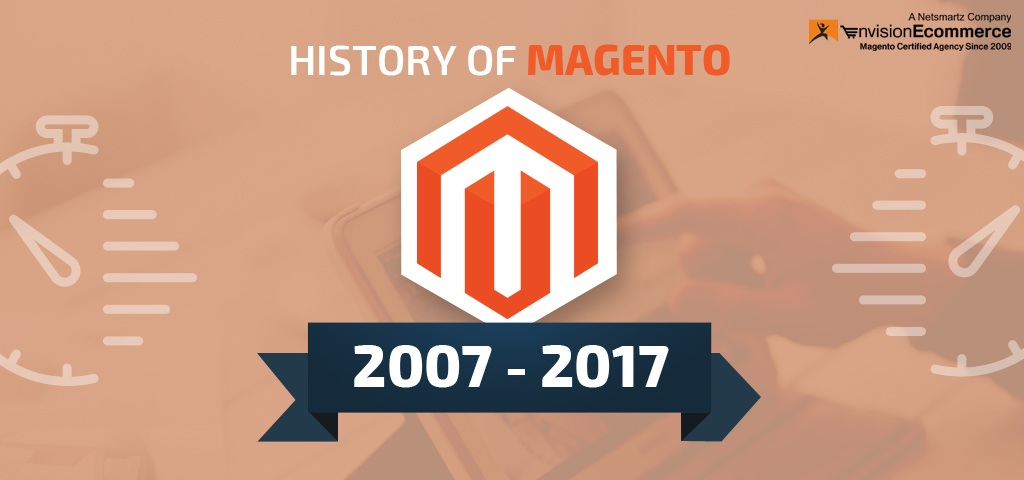 Infographic: History of Magento
