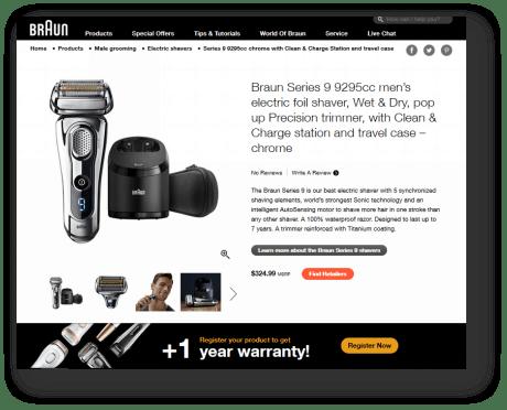 Braun Headless eCommerce